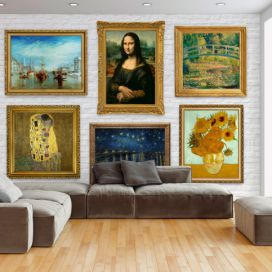 Bimago Fototapeta - Wall of treasures 400x280 cm GLIX DECO s.r.o.