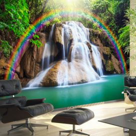 Bimago Fototapeta - Waterfall of Fulfilled Wishes 300x210 cm GLIX DECO s.r.o.