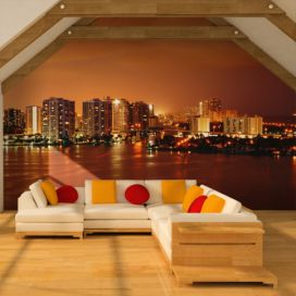 Bimago Fototapeta - Welcome to Miami 200x154 cm GLIX DECO s.r.o.