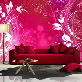 Bimago Fototapeta - Pink face of magic 200x140 cm GLIX DECO s.r.o.