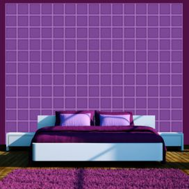 Bimago Tapeta - Blueberry geometry role 50x1000 cm GLIX DECO s.r.o.