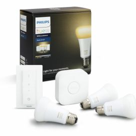 Philips Hue White Ambiance 9.5W A60 Starter kit  alza.cz