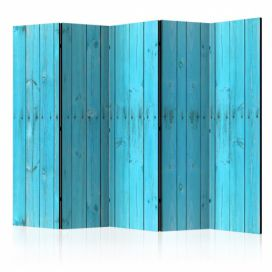Paraván - The Blue Boards II [Room Dividers] - 225x172