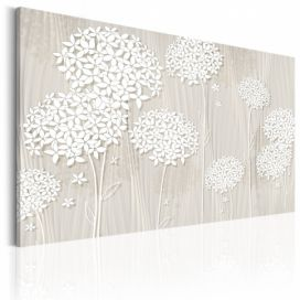Obraz - Flowers in the Wind - 90x60 4wall.cz