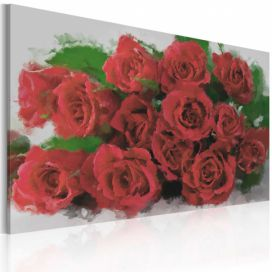 Obraz - Red red roses - 60x40 4wall.cz