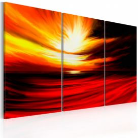 Obraz - Fire from the sky - 120x80 4wall.cz
