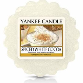 Yankee Candle vonný vosk do aromalampy Spice White Cocoa  Different.cz