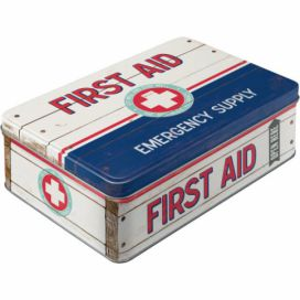 Nostalgic Art Plechová dóza - First Aid (Emergency Supply) 2,5l