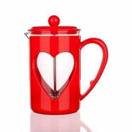 French press DARBY 800ml červený - BANQUET Favi.cz
