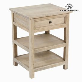 Stolek se 2 policemi - pure life kolekce by craften wood (55015) aaaHome.cz