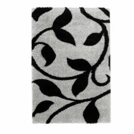 Koberec Think Rugs Fashion Grey Black, 80 x 150 cm Favi.cz