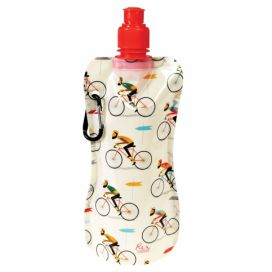 Skládací lahev na vodu Rex London Le Bicycle, 480 ml