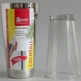 Fuchs COCKTAIL BOSTON SHAKER-nerez+sklo F3305
