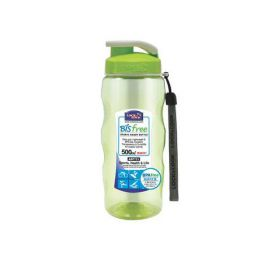 LOCK&LOCK LÁHEV NA VODU BISFREE 500ML, ZELENÁ