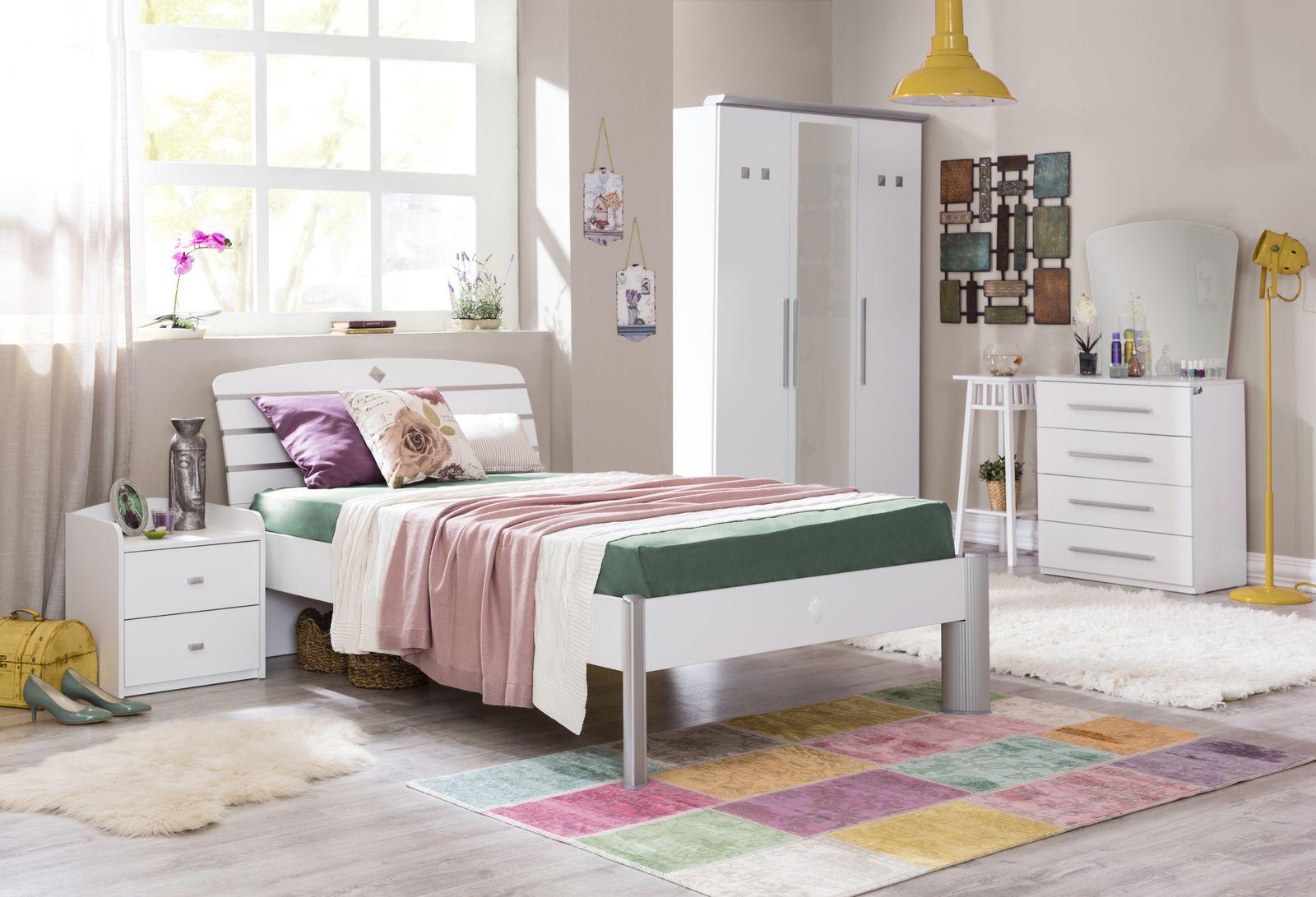 Studentsk pokoj pro d vku active studentsk postel for Jugendzimmer 120x200