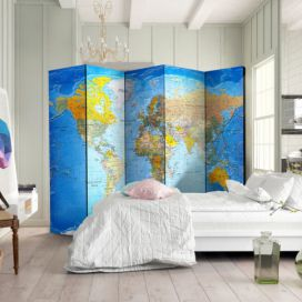 Paraván - World Classic Map 225x172cm GLIX DECO s.r.o.