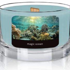 svíčka Wood Wick | Magic Ocean JCandles
