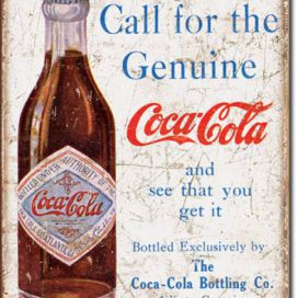 cedule Coca Cola - Call for the Geniune DEKORHOME.CZ