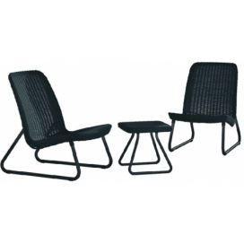 Allibert Set RIO PATIO antracit Favi.cz