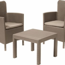 Allibert SALVADOR BALCONY set - cappuchino