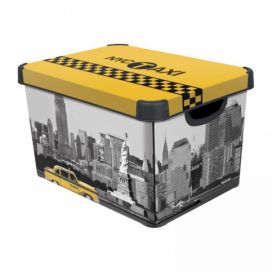 Curver Box DECObox - L - NEW YORK Kokiskashop.cz
