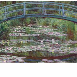 Obraz Claude Monet - The Japanese Footbridge, 50x40 cm Bonami.cz