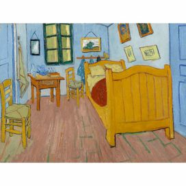 Obraz Vincenta van Gogha - The Bedroom, 40x30 cm Bonami.cz