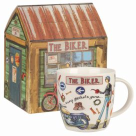 Hrnek z kostního porcelánu Churchill China The Biker, 400 ml