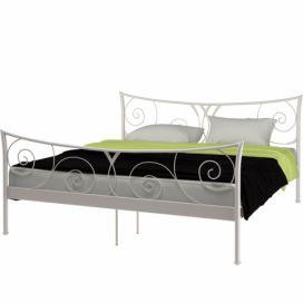 d16a945eb7df Bílá kovová postel Støraa Elizabeth