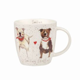 Porcelánový hrnek Churchill China Dog Staffie, 390 ml
