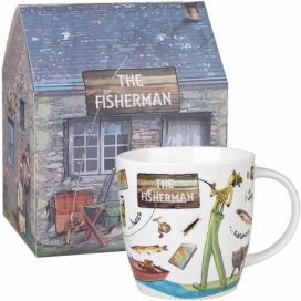 Hrnek z kostního porcelánu Churchill China Fishermen, 400 ml