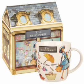 Hrnek z kostního porcelánu Churchill China The Shopper, 400 ml