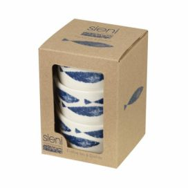Sada 3 porcelánových mističek Churchill China Couture Fishie, 150 ml