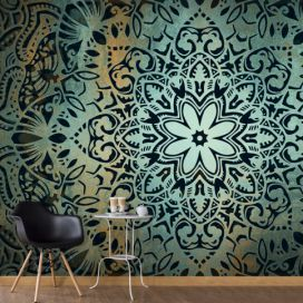 Bimago Fototapeta - The Flowers of Calm 200x140 cm GLIX DECO s.r.o.