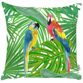 Povlak na polštář Mike & Co. NEW YORK Jungle Parrot, 43 x 43 cm