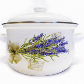 Rendlík+po smalt 24cm LAVENDER Home-point.cz