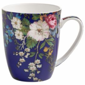 Hrnek z kostního porcelánu Maxwell & Williams Kilburn Floral Muse, 390 ml