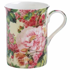 Hrnek z kostního porcelánu Maxwell & Williams Royal Old England Wild Rose, 300 ml Bonami.cz