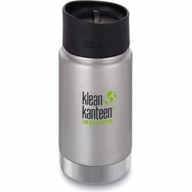 Klean Kanteen Insulated Wide w/Café Cap 2.0 - brushed stainless 355 ml alza.cz