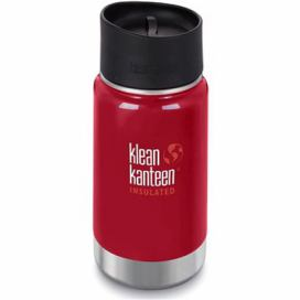 Klean Kanteen Insulated Wide w/Café Cap 2.0 - mineral red 355 ml alza.cz