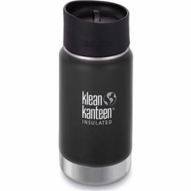 Klean Kanteen Insulated Wide w/Café Cap 2.0 - shale black 355 ml alza.cz