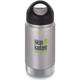 Klean Kanteen Insulated Wide w/Wide Loop Cap - brushed stainless 355 ml alza.cz