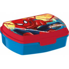 "Toro Svačinový box ""Spiderman\"", 17.5/14.5/6.5cm, plast"