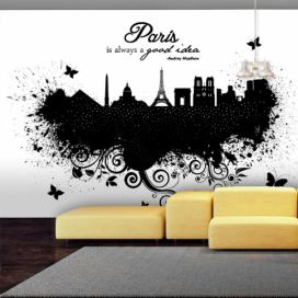 Bimago Fototapeta - Paris is always a good idea 150x105 cm GLIX DECO s.r.o.