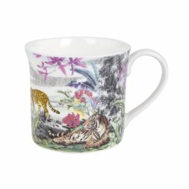 Hrnek z kostního porcelánu Ashdene Jungle Kingdom Big Cats, 260 ml Bonami.cz