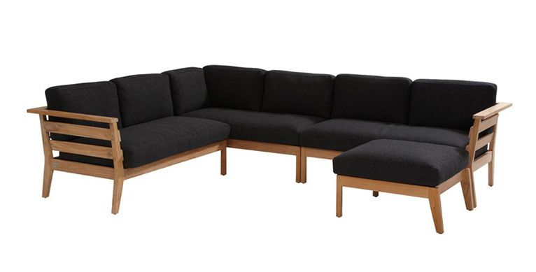 4 Seasons Outdoor Polo teak lounge III - exterio