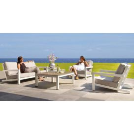 Life Outdoor Block lounge White