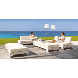 Life Outdoor Cube lounge LED White