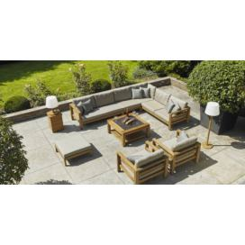 Life Outdoor Delta lounge Teak