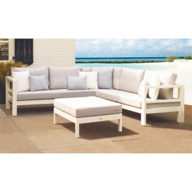 Life Outdoor Delta lounge White